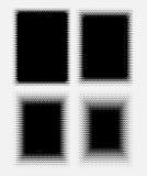 Abstrakte Halbtonpunkte für Schmutzhintergrund Stockbild