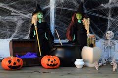 Abstrakte Halloween-Abbildung Stockbild