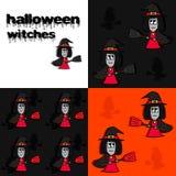Abstrakte Halloween-Abbildung Stockfoto