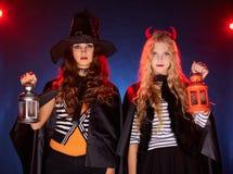 Abstrakte Halloween-Abbildung Stockbilder