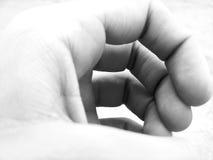 Abstrakte Hand Stockfoto