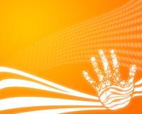 Abstrakte Hand Stockbilder