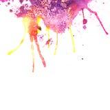 Abstrakte Hand gezeichneter Aquarellhintergrund, Illustration Stockbild