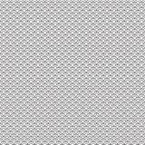Abstrakte Hand gezeichnetes nahtloses Muster des Entwurfswellen-Wassers in der asiatischen Art lizenzfreie abbildung