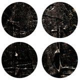 Abstrakte handgemalte Acrylkreisbeschaffenheit lizenzfreie stockbilder