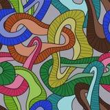 Abstrakte helle Kette für Ihr Design Lizenzfreies Stockfoto