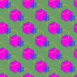 Abstrakte Hexagone stock abbildung