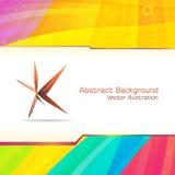 Abstrakte Hightech- Fahnenschablone Lizenzfreie Stockfotos