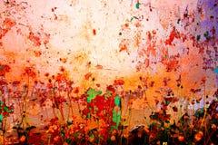 Abstrakte Hintergründe der alten Wand des Schmutzes Stockfotografie