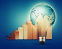 Abstrakte Hintergründe der Energie und der Industrie Lizenzfreie Stockbilder