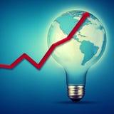 Abstrakte Hintergründe der Energie und der Industrie Lizenzfreie Stockfotos