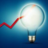 Abstrakte Hintergründe der Energie und der Industrie Lizenzfreie Stockfotografie