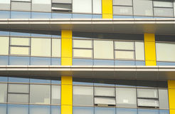 Abstrakte Hintergründe des Büros Windows Stockbild