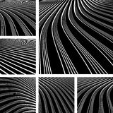 Abstrakte Hintergründe mit Bewegungseffekt. Lizenzfreie Stockfotografie