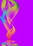 Abstrakte Hintergründe violett lizenzfreie abbildung