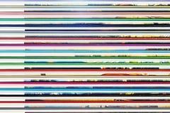 Abstrakte Hintergründe von den Farbbucheinbändn Stockbild