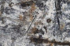 Abstrakte Hintergrund-Beschaffenheit im Weiß und Brown auf Schwarzem I Lizenzfreies Stockfoto