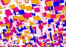 Abstrakte Hintergrund Farbe Dot Cube Stockbilder