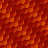 Abstrakte Hintergrund-Kunst Weinlese Rusty Texture Parkett oder Boden Geometrische Muster-Hexagone Illustrations-Gestaltungseleme Stockfotografie