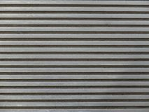 Abstrakte Hintergrund-, Schwarze und Grauehorizontale Linien, Beschaffenheit, Abschluss oben lizenzfreie stockfotos