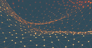 Abstrakte Hintergrund-Wissenschafts-Technologie Stockfotos