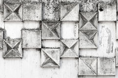 Abstrakte Hintergrundbeschaffenheit mit quadratischem Muster Stockfoto