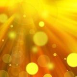 Abstrakte Hintergrundgoldtöne Lizenzfreies Stockbild
