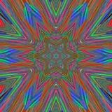Abstrakte Hintergrundlinien der Kunst blau Lizenzfreies Stockfoto