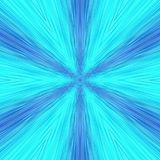 Abstrakte Hintergrundlinien der Kunst blau Lizenzfreie Stockfotografie