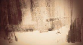 Abstrakte Hintergrundmalerei Lizenzfreies Stockbild