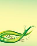 Abstrakte Hintergrundschablone des Blattes mit Exemplarplatz Stockbild
