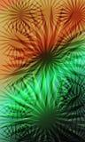 Abstrakte Hintergrundschablone im Laptophintergrund vektor abbildung