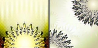 Abstrakte Hintergrundschablonen Lizenzfreie Stockfotos