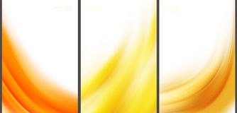 Abstrakte Hintergrundspitzentechnologiesammlung Stock Abbildung