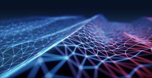 Abstrakte Hintergrundtechnologie Stockbild