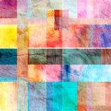 Abstrakte Hintergrundvierecke Lizenzfreie Stockfotografie