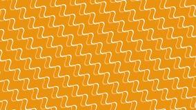 Abstrakte hypnotische Wellenlinien lizenzfreie abbildung