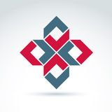 Abstrakte Ikone, abstraktes Symbol, Vektorgrafikdesignelement Lizenzfreie Stockfotografie