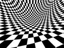 Abstrakte Illusion lizenzfreie abbildung