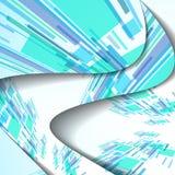 Abstrakte Illustration, bunte Zusammensetzung. Lizenzfreie Stockfotografie