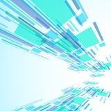 Abstrakte Illustration, bunter Hintergrund Stockbild