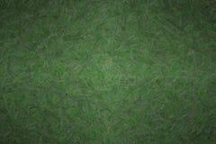 Abstrakte Illustration des dunklen Dschungel-Grüns maserte Impasto-Hintergrund, digital erzeugt stockbild