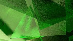 Abstrakte Illustration eines grünen Hintergrundes Lizenzfreie Stockbilder