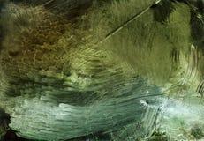 Abstrakte Illustration verbunden mit Blizzard oder Nachtwind lizenzfreie abbildung