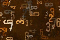 Abstrakte Illustrationen der Form, Begriffshintergrund Muster, Text, Unschärfe, Buchstabe u. Schule Lizenzfreies Stockfoto