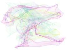 Abstrakte Illustrationen der rauchigen Linie Kunst, begrifflich Muster, Abdeckung, generatives u. Effekt vektor abbildung