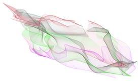 Abstrakte Illustrationen der rauchigen Linie Kunst, begrifflich Segeltuch, Farbe, Art u. digitales stock abbildung