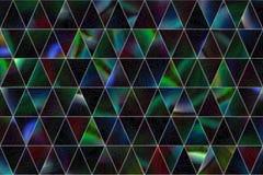 Abstrakte Illustrationen des Dreieckstreifens, begrifflich Grafik, Art, Zeichnung u. Tapete stock abbildung