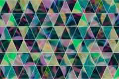 Abstrakte Illustrationen des Dreieckstreifens, begrifflich Grafik, Muster, generatives u. Abdeckung vektor abbildung