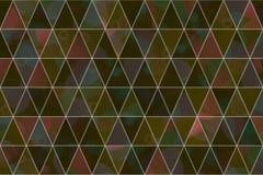 Abstrakte Illustrationen des Dreieckstreifens, begrifflich Muster, Hintergrund, Kunst u. Wiederholung stock abbildung